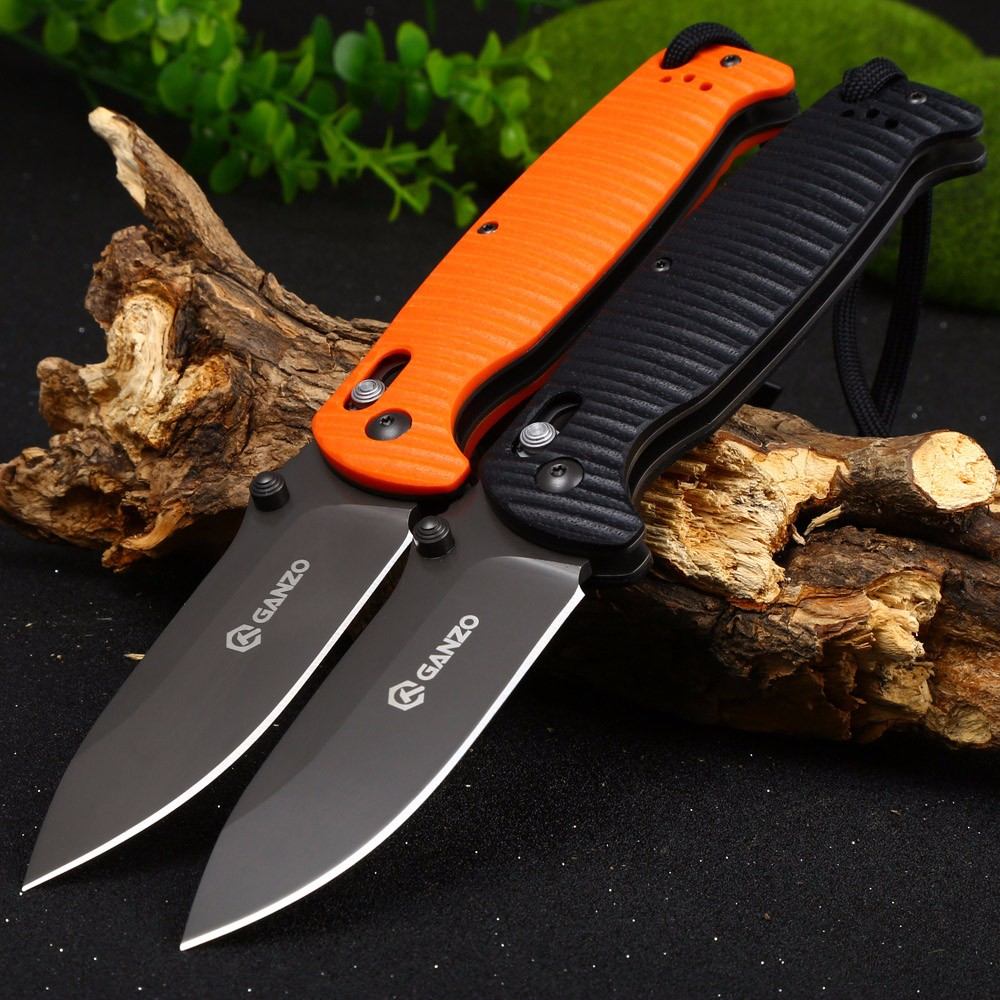ganzo g7413p bk ws axis lock pocket knife 20 95 online shopping