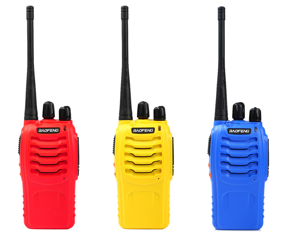 Baofeng BF-888S UHF Walkie Talkie 16 Channel with LED Light