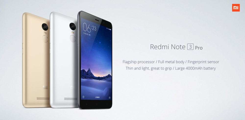 Xiaomi Redmi Note 3 Pro 5 5 inch 4G Phablet