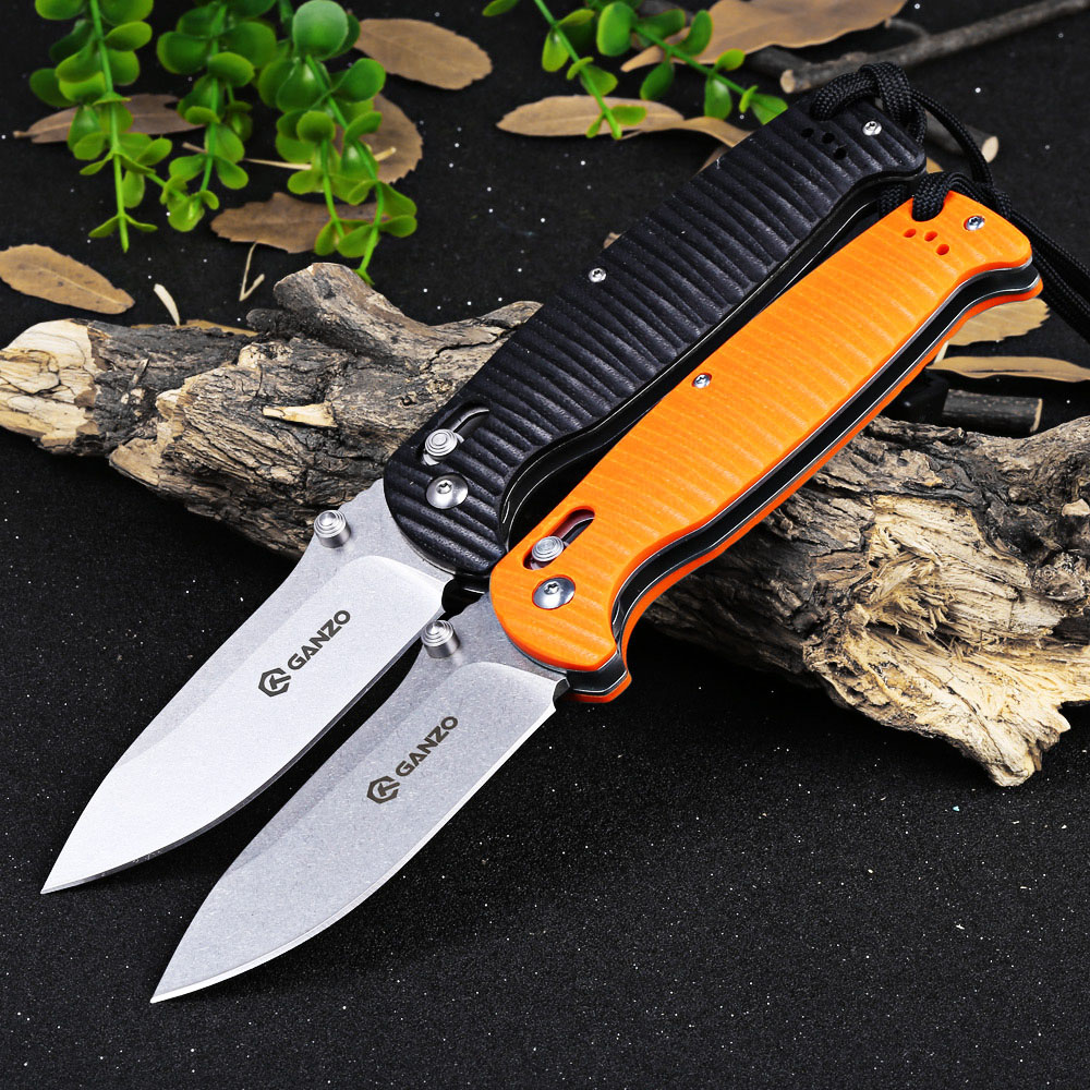 ganzo g7412p bk ws axis lock pocket folding blade knife 21 09