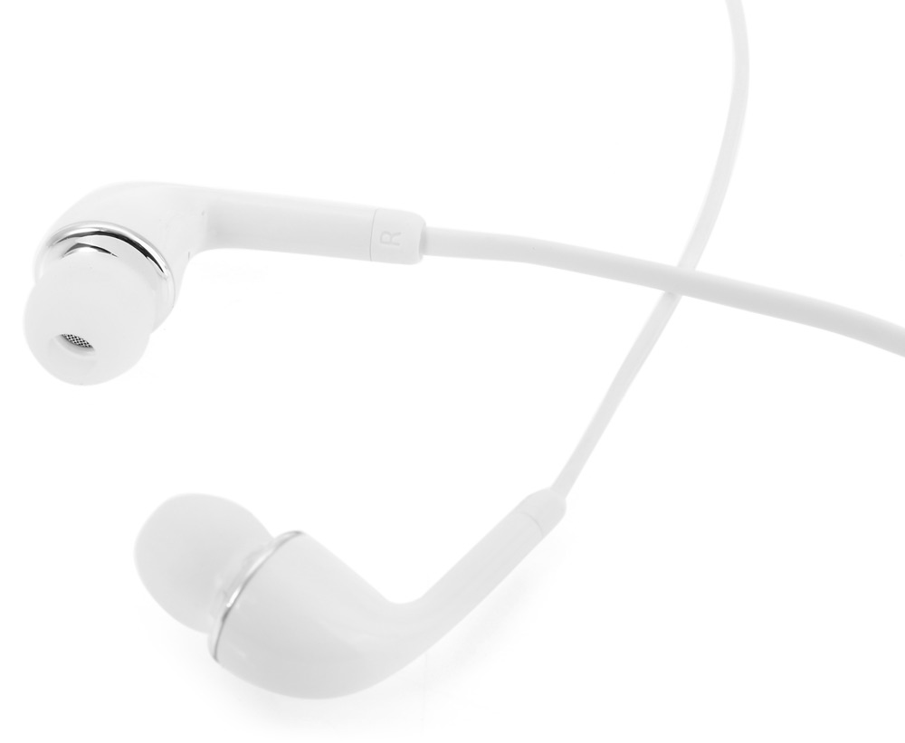 Original Samsung HS330 In-ear Earphones Drive-by-wire Noise Reduction- White
