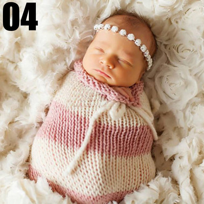 Lovely Newborn Baby Photography Sleeping Bag Outfits