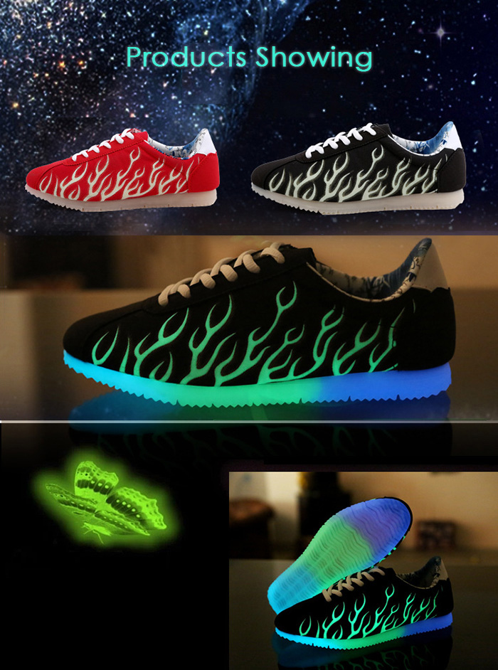 zapatillas led tenis led