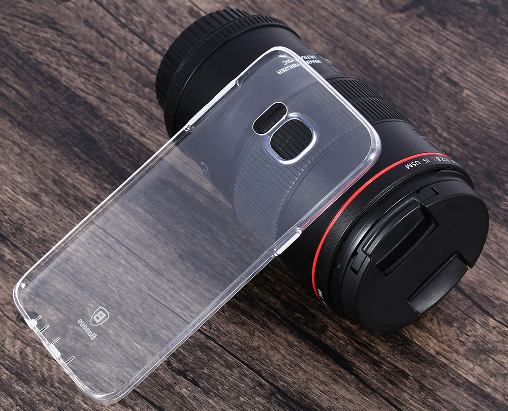 Baseus Air Series Transparent TPU Skin Case Cover for Samsung Galaxy S7 Edge