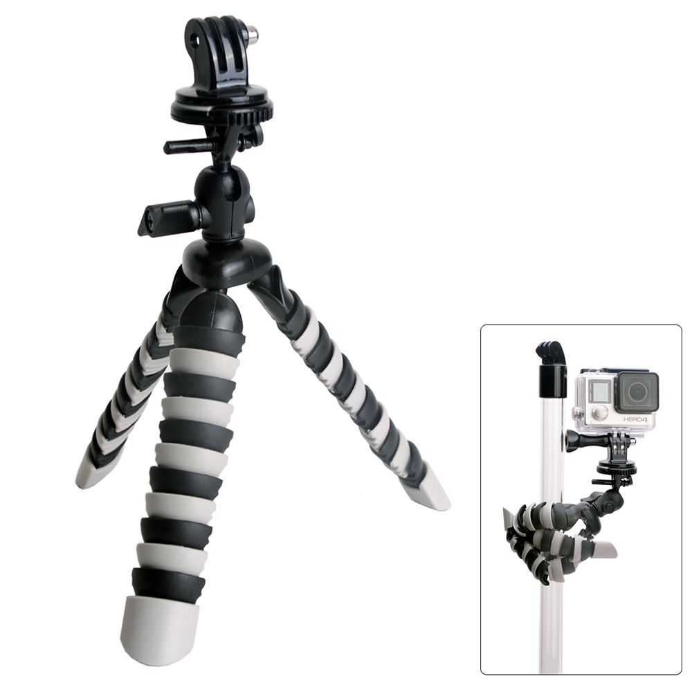Fat Cat 8 inch Octopus Tripod Flexible Mount for Universal Action Sport Camera