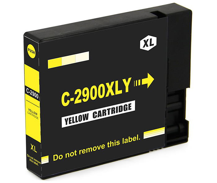 INK-TANK C-2900XLY 22ml Replaceable Pigment Ink Tank Cartridges- Yellow