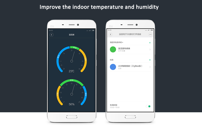 Original Xiaomi Mi Smart Temperature and Humidity Sensor Thermometer Hygrometer Measurer Tool