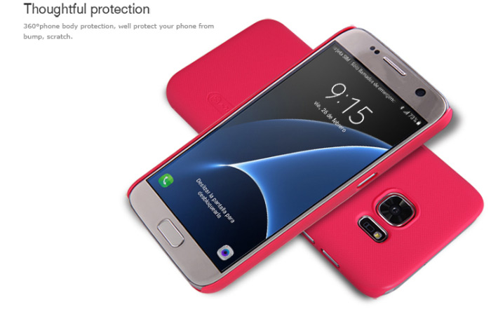 Nillkin Protective Cover Case for Samsung Galaxy S7 Frosted Style PC Hard Mobile Protector