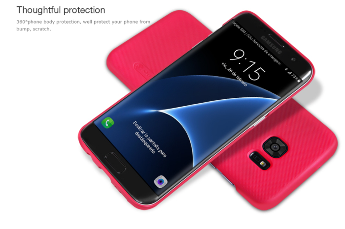 Nillkin Protective Cover Case for Samsung Galaxy S7 Edge Matte Style PC Hard Mobile Protector