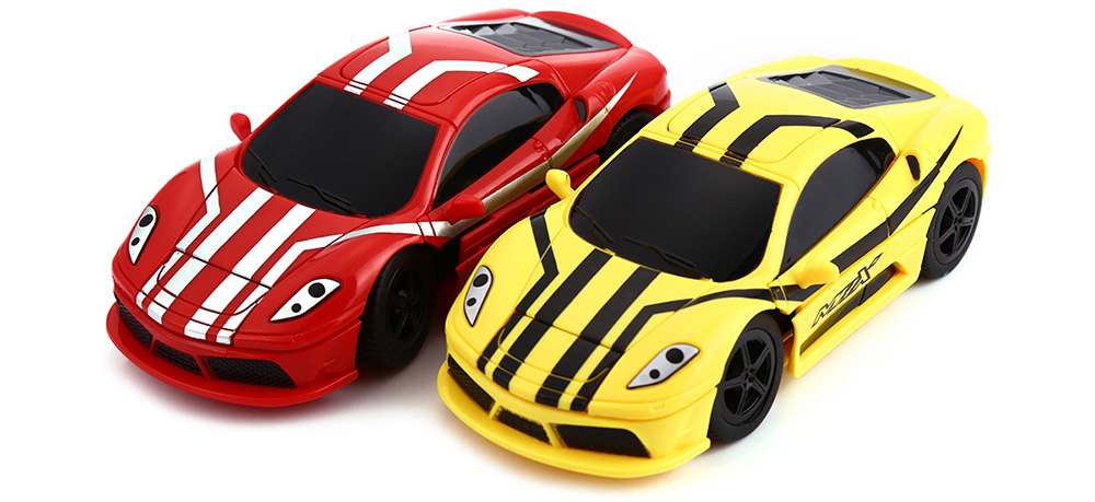 CREATE TOYS 8010 27MHz RC Transforming RTR Car Model Bumping Conversion