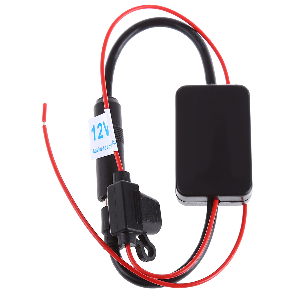 Cheyoule dc 12v ant 208 radio fm antenna signal amplifier booster for marine car boat