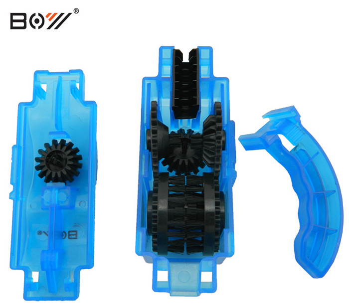 BOY 7083 Bicycle Chain Cleaner with 3D Brush