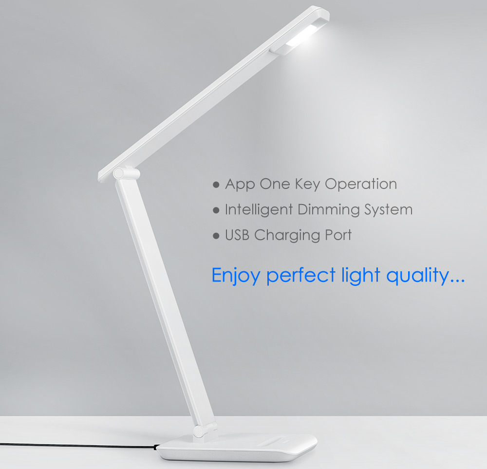 Xiaomi PHILIPS Intelligent App Dimming LED Desk Lamp USB Output ...