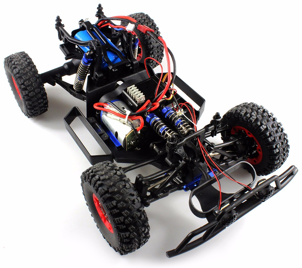 Wltoys No 12423 1 12 Full Scale 24ghz Climbing Buggy With Bright How To Wire A Ceiling Light Switch Razor Ground Force Go Kart Wiring High Speed 4wd Remote Control Car