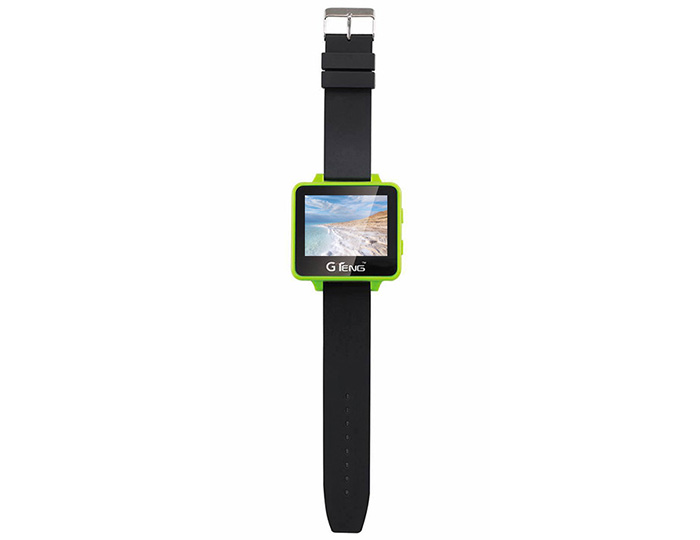 GTeng T909 5.8G FPV Watch Wearable Receiver with 2.6 inch LCD Screen- Green
