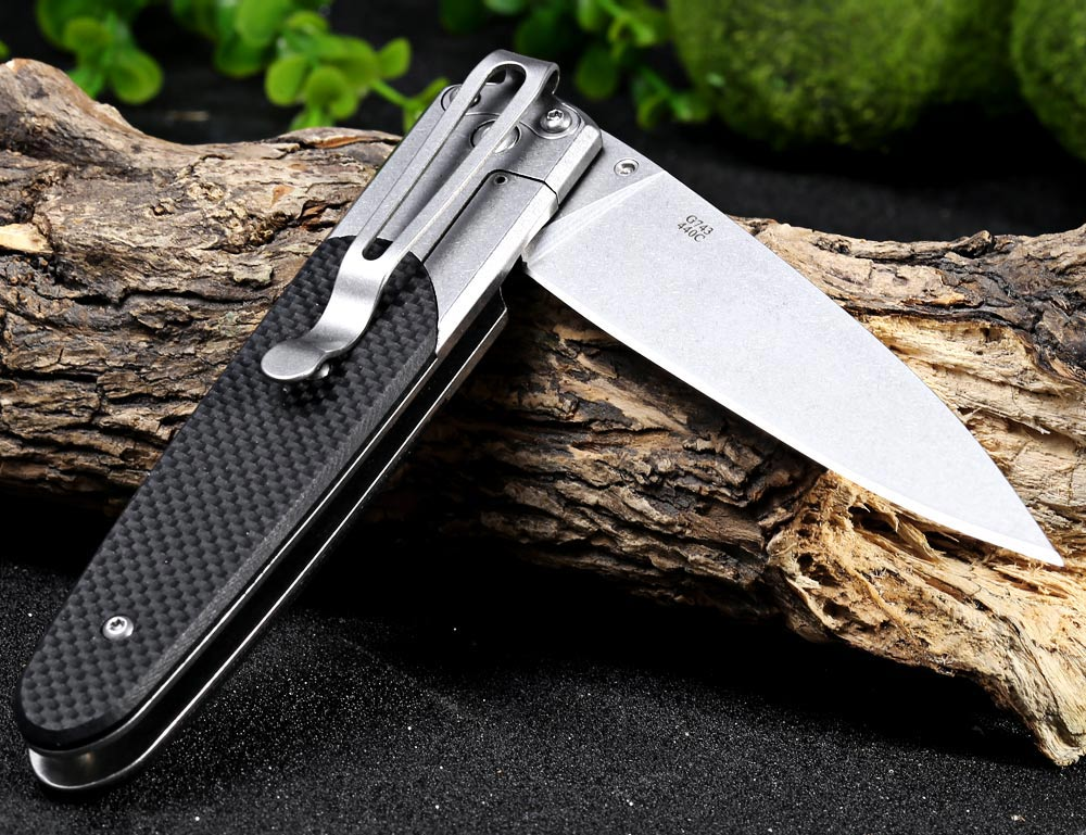 how to make a frame lock folding knife