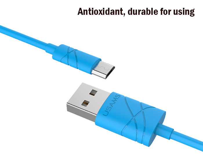 USAMS U-gee Series US SJ039 Micro USB Data Transfer and Charging Cable - 1m