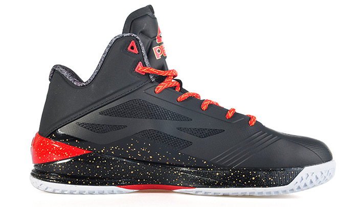 5598fefbbcc Peak E61053A Men Basketball Shoes Anti-slip Wear Resistant Professional  Sport Supplies- Red with