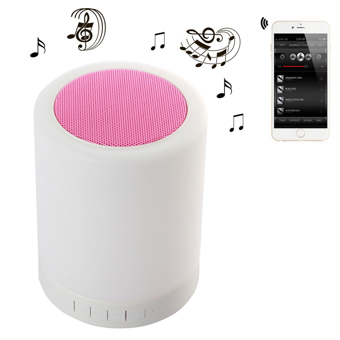 Touch Lamp Wireless Bluetooth Portable Music Speaker