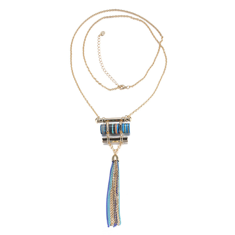 ELANDIS NK197111 Korean Stylish Necklace with Alloy Chain for Women