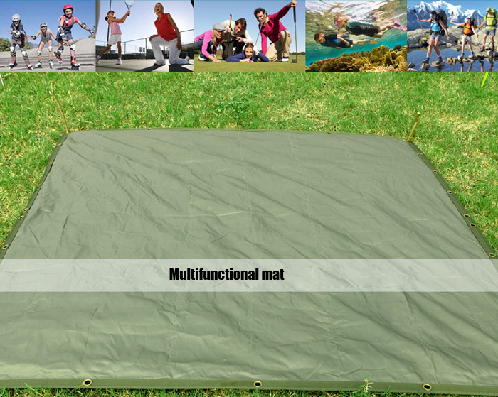 FREE SOLDIER Outdoor Multi-purpose Mat Awning Hammock Sleeping Bag