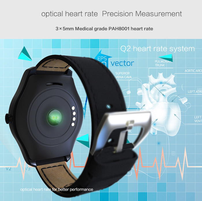 Q2 Siri Heart Rate Measurement Smart Watch -$46.59 Online ...