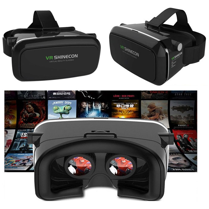 65fb5b19257 Practical VR SHINECON Virtual Reality Headset 3D IMAX Video Glasses  Radiation Protection for Movies Games 3.5