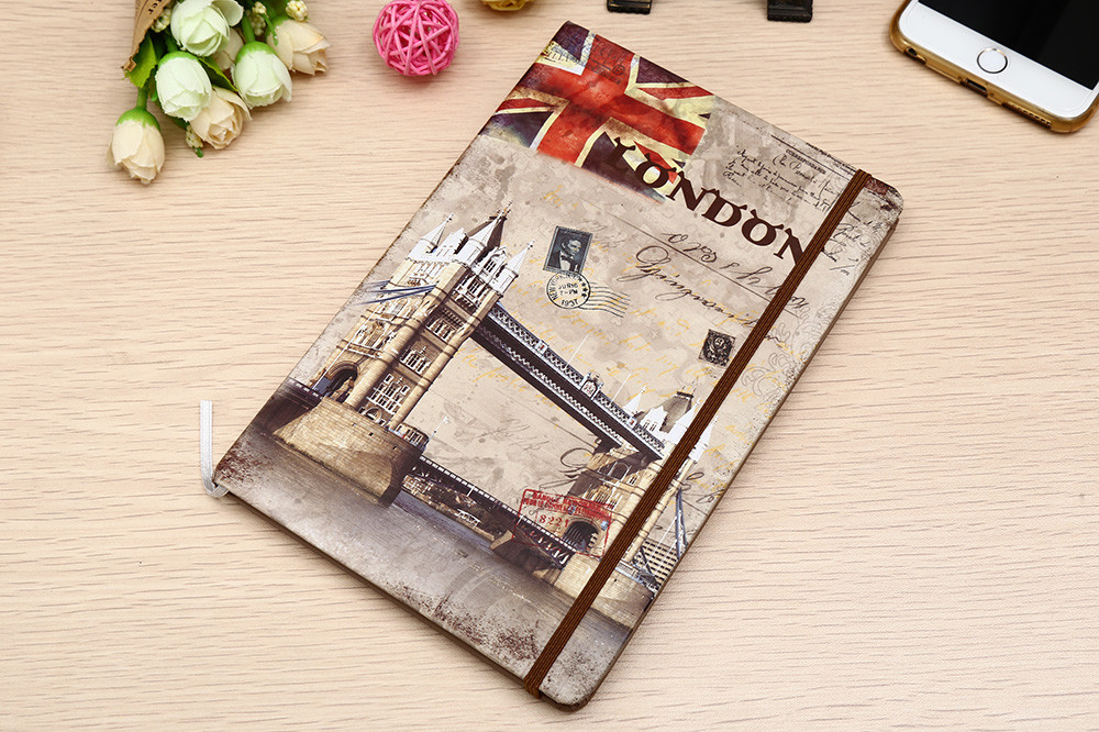 Mini Paper Notebook  Stationery  Notepad with  Cardboard Cover