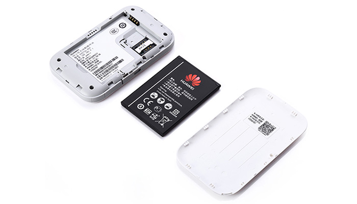 Original HUAWEI E5573s - 856  4G Mobile WiFi Router LTE Cat4 150Mbps Support Double External Antenna Port- White