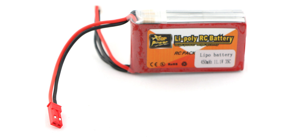 ZOP Power 11.1V 450mAh 35C Li-Po Battery for TL130H1