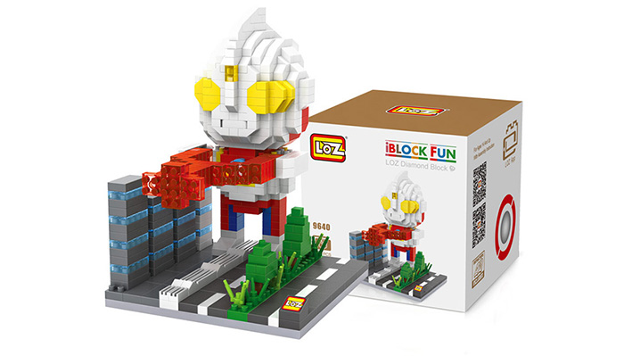 LOZ 550Pcs Building Block Educational Movie Product Kid Toy