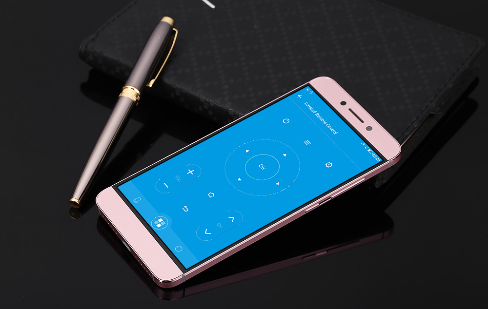 LETV Leeco 2 x620 32GB ROM Android 6.0 4G Phablet 5.5 inch Arc Screen MTK6797 Deca Core 3GB RAM 16MP Main Camera Fingerprint ID- Rose Gold