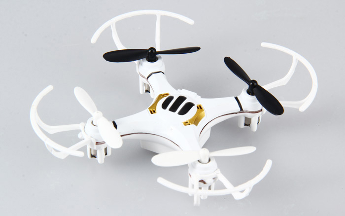 FLYER 668 - A4 4CH 2.4G Mini RC Quadcopter with Light 360 Degree Eversion
