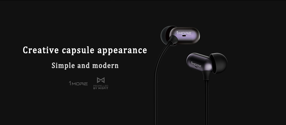 1More Capsule Hybrid In-ear Earphones Dynamic Balanced Armature Driver with Mic