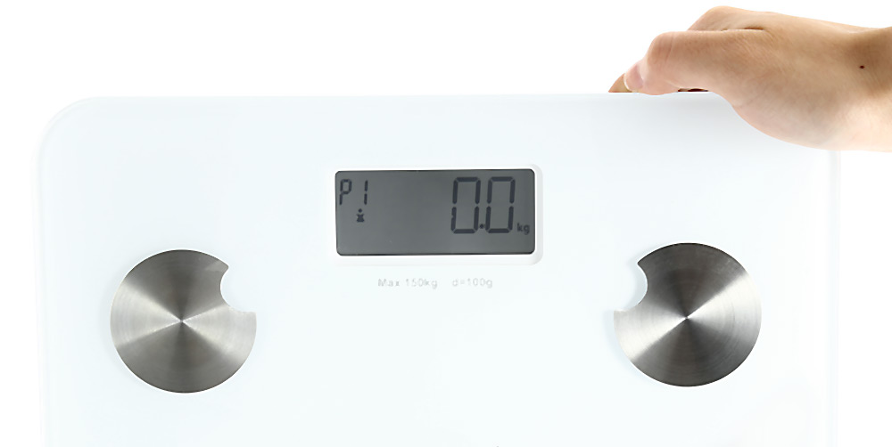 YESHM YHF1431 - WH5 Precision Body Fat Scales Electronic Personal Weighing Tool with Multi Measurement Date