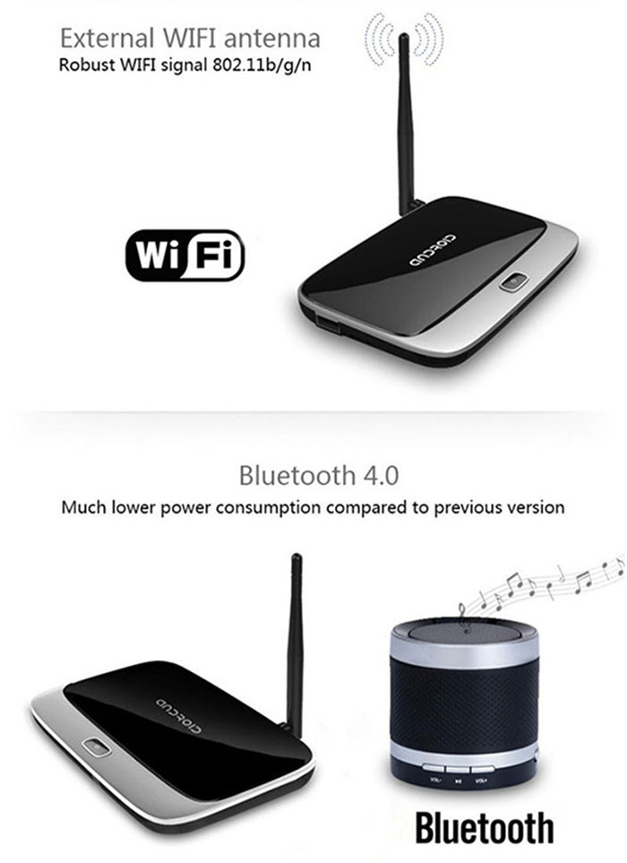 CS918 - Q7 RK3188 Quad Core TV Box Android 4 4