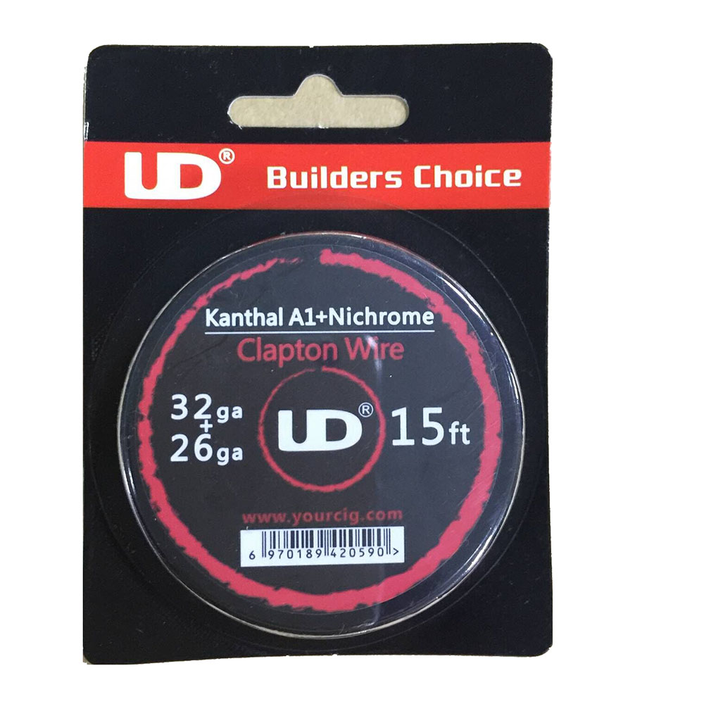 Original Youde UD Ni80 and Kanthal A1 Wire 26GA + 32GA-$7.02 Online ...