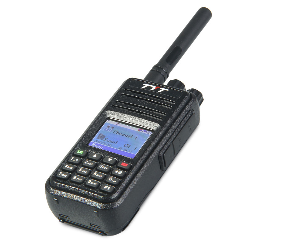 Tyt Md 380 1000 Channel Walkie Talkie 10158 Free Shipping Electronic 2014 New Fm Radio Talkies Circuit Board Wit H Voice Prompt Color Lcd Display Black