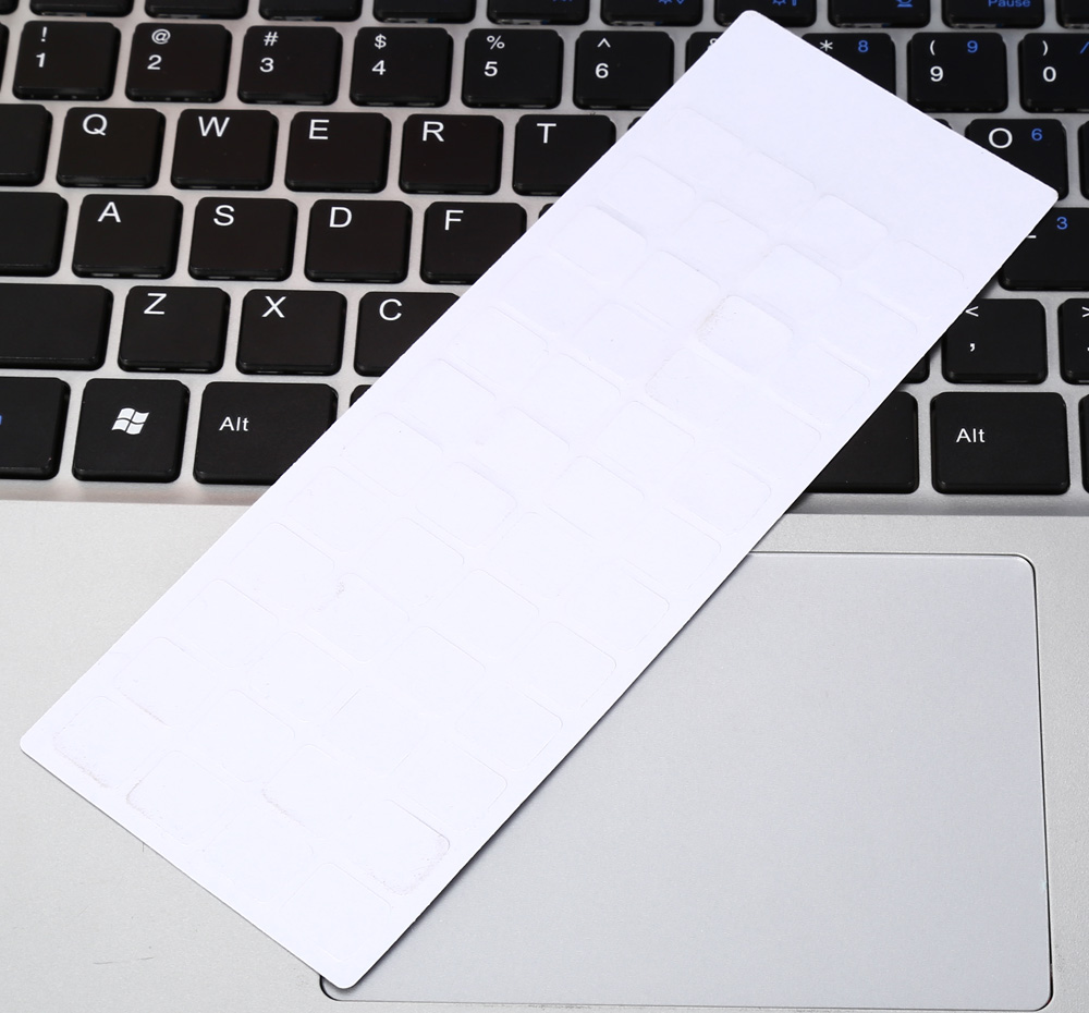 Removable French Frosted Keyboard Sticker for Laptop