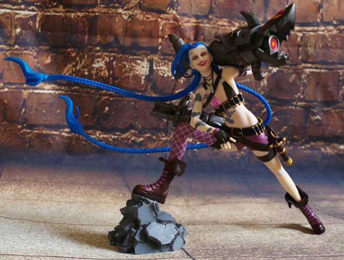 9 inch Static Figure Model Video Game PVC Collectible Figurine Toy- Colormix