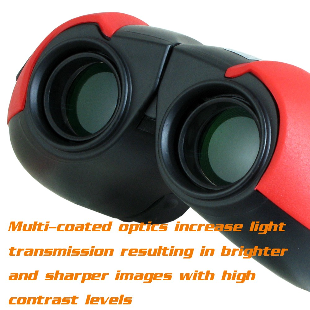 Kinglux BT5563B Optical Kids Binocular BAK - 4 Prism Telescope