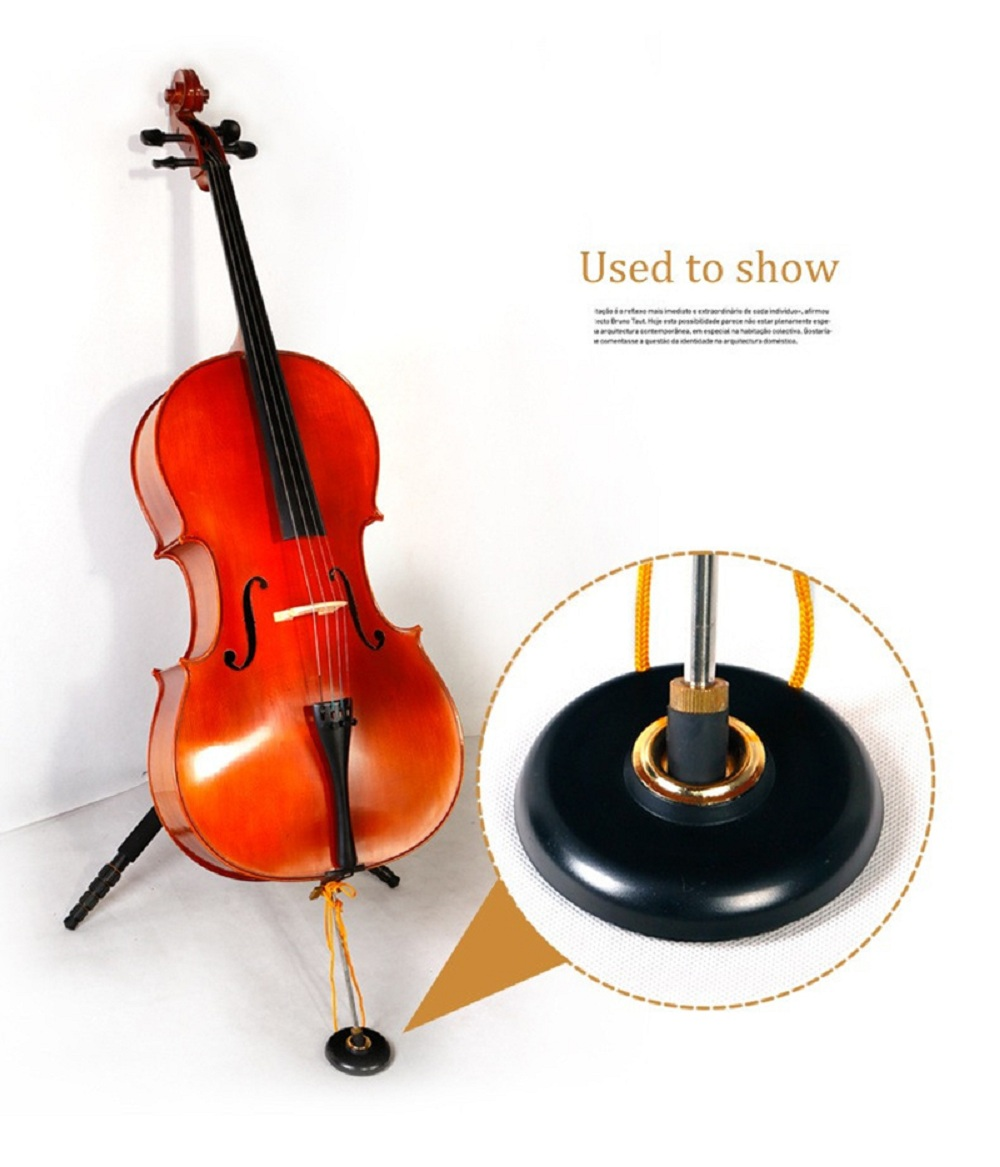 Cello Stop End Pin Stand Holder Practical Violoncello Accessories