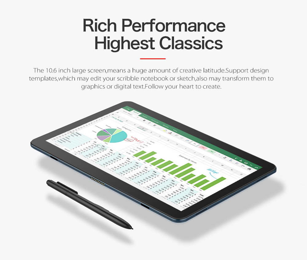 Cube i7 Book 2 in 1 Tablet PC