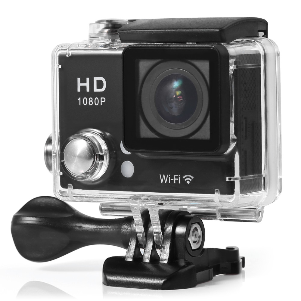 G2 Full Hd 1080p 30fps Wifi Action Camera 5320 Free Shipping Sports Cam Sport Mini H264 No 2 Inches Lcd 170 Degree View Angle Waterproof