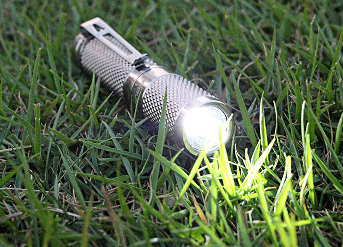 ThruNite Ti Cree XPL V4 162LM Titanium AAA LED Flashlight