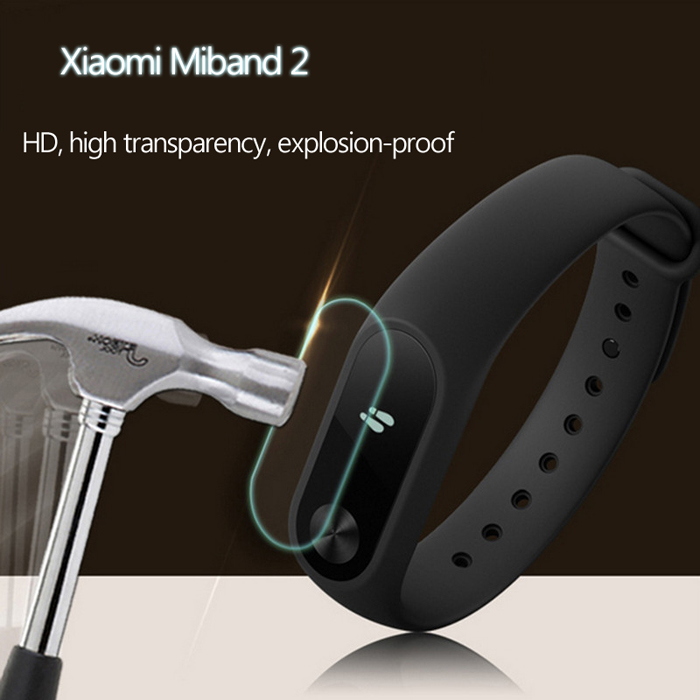 D.MRX 2PCS Nano Explosion-proof Film Ultra-thin for Xiaomi Miband 2