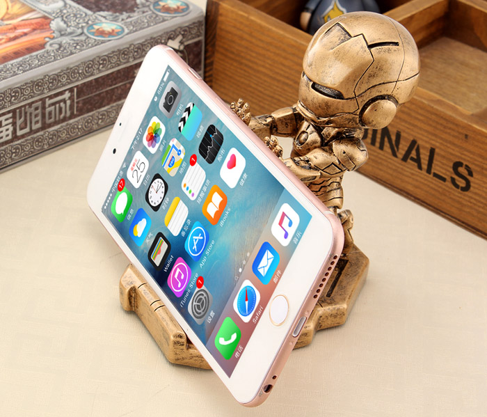 Vintage Style Mobile Phone Stand Holder Car Dashboard Bracket Decoration with Cartoon Pattern