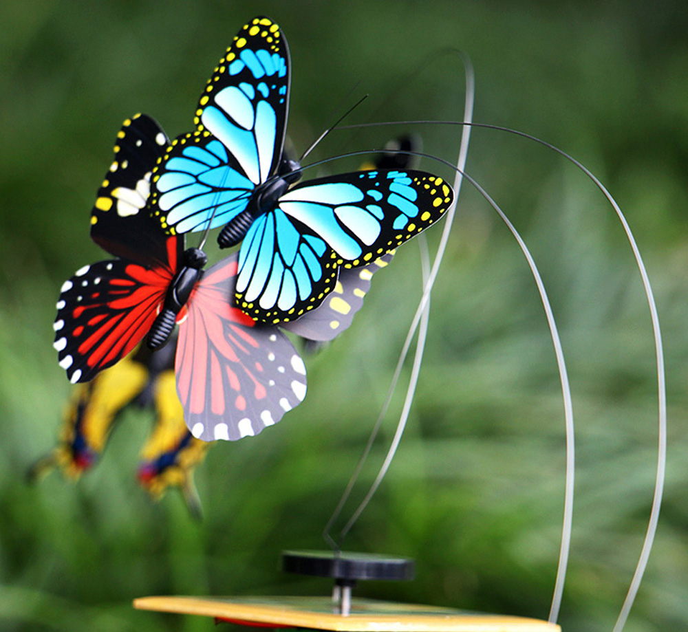 Solar Energy Butterfly Flying Toy -$4.36 Online Shopping| GearBest.com