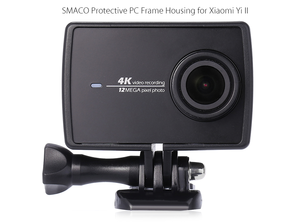 SMACO Protective Frame Cage PC Material for Xiaomi Yi II 4K Action Camera