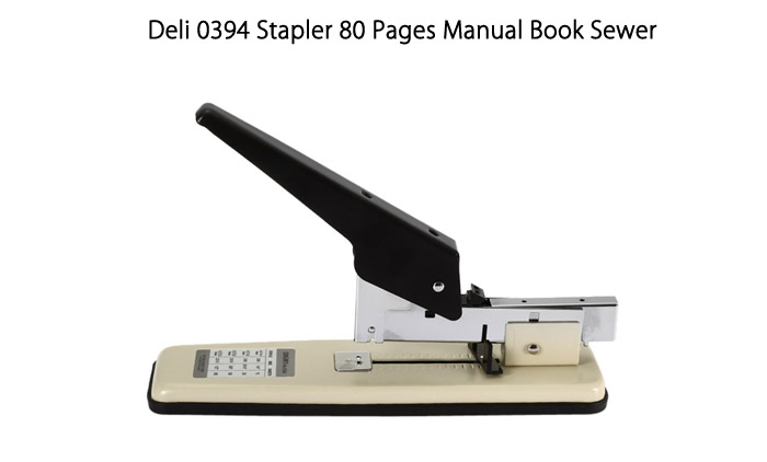 Deli 0394 Stapler 80 Pages Manual Book Sewer